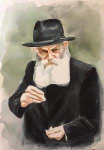 Le Rabbi a la piece d'argent