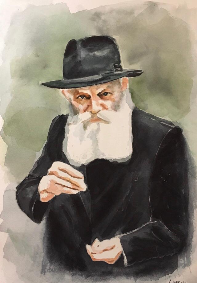 Le Rabbi a la piece d'argent - 1770 shekels