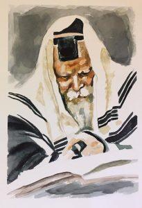 Rabbi sous le Talith - 1 800 shekels