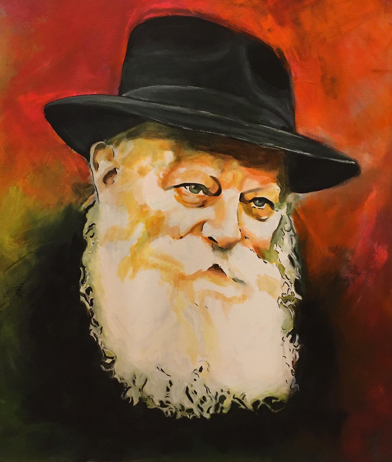 Rabbi au regard pénétrant - 7700 shekels
